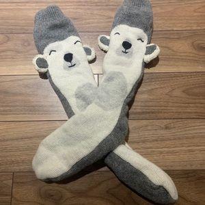 🌟Hostpick🌟 Indigo reading socks